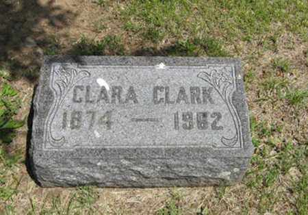 CLARK, CLARA - Pottawatomie County, Kansas | CLARA CLARK - Kansas Gravestone Photos