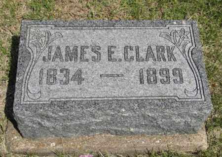CLARK, JAMES E - Pottawatomie County, Kansas   JAMES E CLARK - Kansas Gravestone Photos