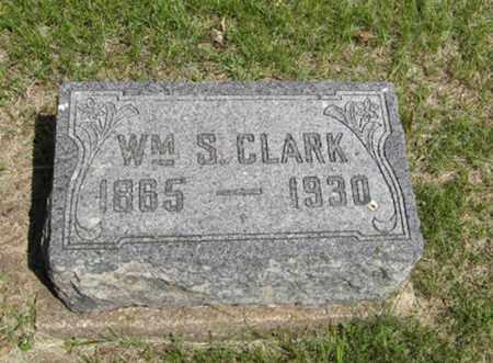 CLARK, WILLIAM S - Pottawatomie County, Kansas | WILLIAM S CLARK - Kansas Gravestone Photos