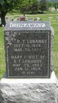 CONAWAY, B T - Pottawatomie County, Kansas | B T CONAWAY - Kansas Gravestone Photos