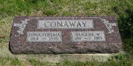 CONAWAY, EUGENE W - Pottawatomie County, Kansas | EUGENE W CONAWAY - Kansas Gravestone Photos