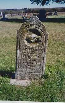 COOK, EMMETT A - Pottawatomie County, Kansas | EMMETT A COOK - Kansas Gravestone Photos