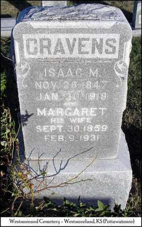 CRAVENS, MARGARET - Pottawatomie County, Kansas   MARGARET CRAVENS - Kansas Gravestone Photos