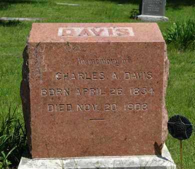 DAVIS, CHARLES A - Pottawatomie County, Kansas | CHARLES A DAVIS - Kansas Gravestone Photos