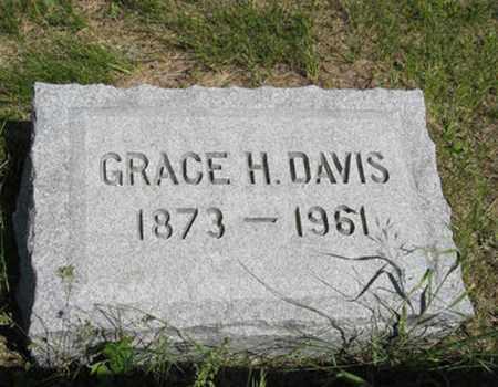 DAVIS, GRACE H - Pottawatomie County, Kansas | GRACE H DAVIS - Kansas Gravestone Photos