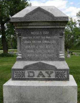 DAY, MARY J - Pottawatomie County, Kansas | MARY J DAY - Kansas Gravestone Photos