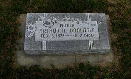 DOOLITTLE, ARTHUR N - Pottawatomie County, Kansas | ARTHUR N DOOLITTLE - Kansas Gravestone Photos