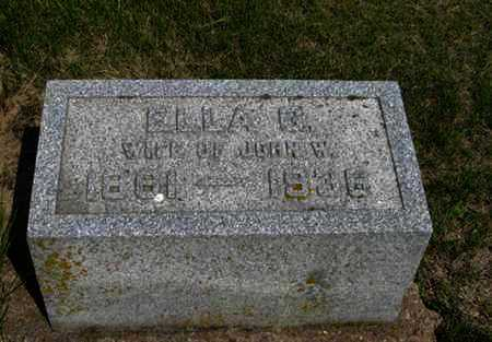 DUNN, ELLA G - Pottawatomie County, Kansas | ELLA G DUNN - Kansas Gravestone Photos