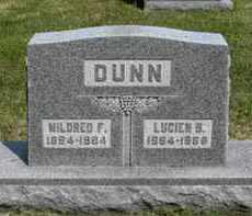 DUNN, LUCIEN B. - Pottawatomie County, Kansas | LUCIEN B. DUNN - Kansas Gravestone Photos