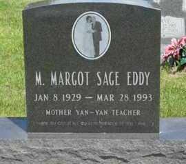 SAGE EDDY, M  MARGOT - Pottawatomie County, Kansas   M  MARGOT SAGE EDDY - Kansas Gravestone Photos