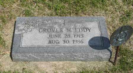 EDDY, GROVER W - Pottawatomie County, Kansas   GROVER W EDDY - Kansas Gravestone Photos