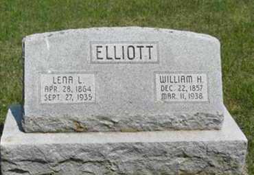 ELLIOTT, WILLIAM H - Pottawatomie County, Kansas   WILLIAM H ELLIOTT - Kansas Gravestone Photos