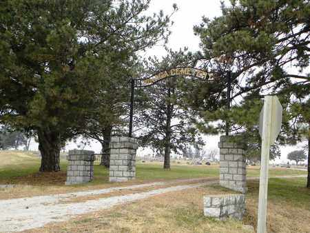 *ENTRANCE,  - Pottawatomie County, Kansas |  *ENTRANCE - Kansas Gravestone Photos