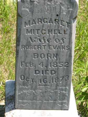 EVANS, MARGARET (CLOSEUP) - Pottawatomie County, Kansas | MARGARET (CLOSEUP) EVANS - Kansas Gravestone Photos