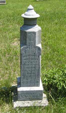 EVANS, MARGARET - Pottawatomie County, Kansas   MARGARET EVANS - Kansas Gravestone Photos