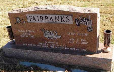 FAIRBANKS, LYNN GLENN - Pottawatomie County, Kansas   LYNN GLENN FAIRBANKS - Kansas Gravestone Photos