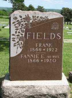 FIELDS, FRANK - Pottawatomie County, Kansas | FRANK FIELDS - Kansas Gravestone Photos
