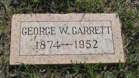 GARRETT, GEORGE W - Pottawatomie County, Kansas | GEORGE W GARRETT - Kansas Gravestone Photos