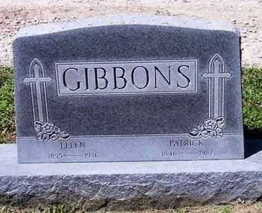 MEAD GIBBONS, ELLEN - Pottawatomie County, Kansas | ELLEN MEAD GIBBONS - Kansas Gravestone Photos