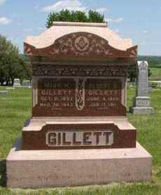 COCKRELL GILLETT, MARY HANNAH - Pottawatomie County, Kansas | MARY HANNAH COCKRELL GILLETT - Kansas Gravestone Photos