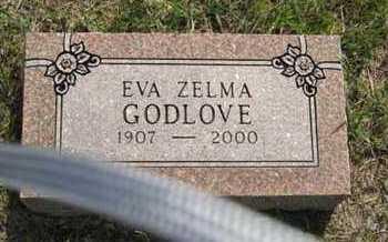 GODLOVE, EVA ZELMA - Pottawatomie County, Kansas   EVA ZELMA GODLOVE - Kansas Gravestone Photos