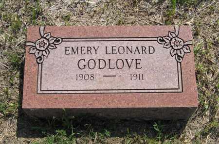 GODLOVE, EMERY LEONARD - Pottawatomie County, Kansas   EMERY LEONARD GODLOVE - Kansas Gravestone Photos