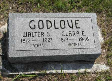 GODLOVE, CLARA E - Pottawatomie County, Kansas | CLARA E GODLOVE - Kansas Gravestone Photos