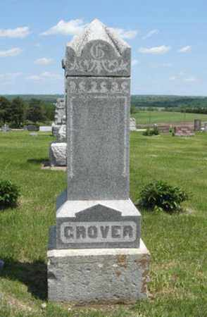GROVER, FAMILY MONUMENT - Pottawatomie County, Kansas | FAMILY MONUMENT GROVER - Kansas Gravestone Photos
