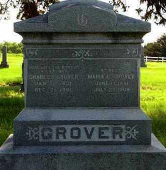 GROVER, MARIA O - Pottawatomie County, Kansas | MARIA O GROVER - Kansas Gravestone Photos