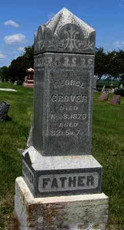 GROVER, GEORGE - Pottawatomie County, Kansas | GEORGE GROVER - Kansas Gravestone Photos