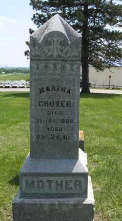 GROVER, MARTHA - Pottawatomie County, Kansas   MARTHA GROVER - Kansas Gravestone Photos