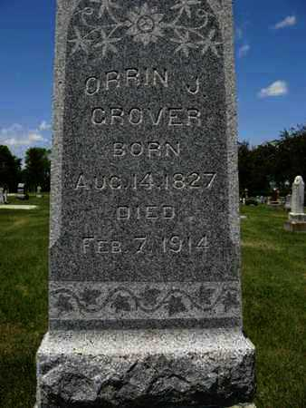 GROVER, ORRIN J (CLOSE UP) - Pottawatomie County, Kansas   ORRIN J (CLOSE UP) GROVER - Kansas Gravestone Photos