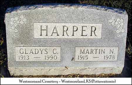 HARPER, MARTIN N - Pottawatomie County, Kansas | MARTIN N HARPER - Kansas Gravestone Photos