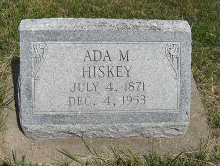 HISKEY, ADA M - Pottawatomie County, Kansas | ADA M HISKEY - Kansas Gravestone Photos