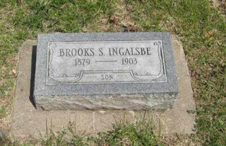 INGALSBE, BROOKS S - Pottawatomie County, Kansas   BROOKS S INGALSBE - Kansas Gravestone Photos
