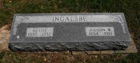 INGALSBE, NETTIE - Pottawatomie County, Kansas | NETTIE INGALSBE - Kansas Gravestone Photos