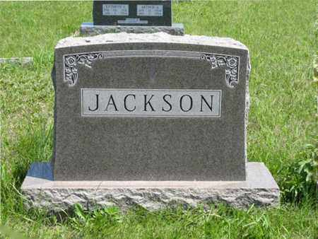 JACKSON, FAMILY MONUMENT - Pottawatomie County, Kansas | FAMILY MONUMENT JACKSON - Kansas Gravestone Photos