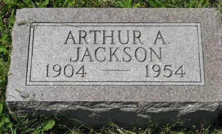 JACKSON, ARTHUR A - Pottawatomie County, Kansas | ARTHUR A JACKSON - Kansas Gravestone Photos