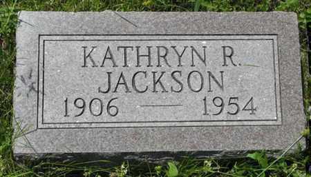 JACKSON, KATHRYN R - Pottawatomie County, Kansas | KATHRYN R JACKSON - Kansas Gravestone Photos