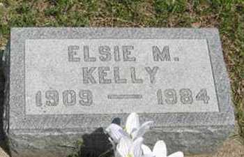 KELLY, ELSIE M - Pottawatomie County, Kansas | ELSIE M KELLY - Kansas Gravestone Photos
