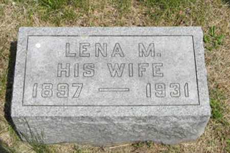 KELLY, LENA M - Pottawatomie County, Kansas | LENA M KELLY - Kansas Gravestone Photos