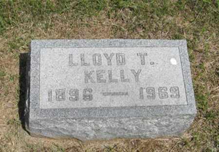 KELLY, LLOYD T - Pottawatomie County, Kansas | LLOYD T KELLY - Kansas Gravestone Photos