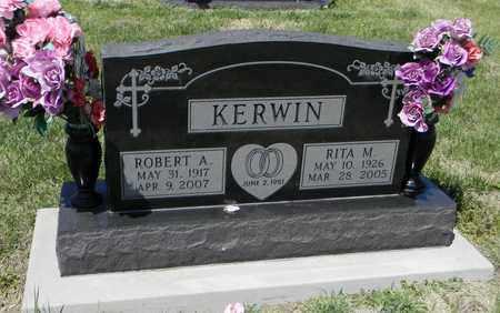 KERWIN, RITA M - Pottawatomie County, Kansas | RITA M KERWIN - Kansas Gravestone Photos