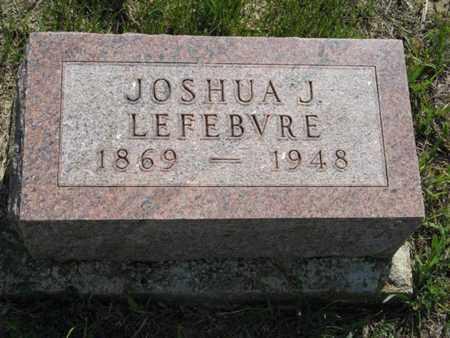 LEFEBVRE, JOSHUA J - Pottawatomie County, Kansas | JOSHUA J LEFEBVRE - Kansas Gravestone Photos