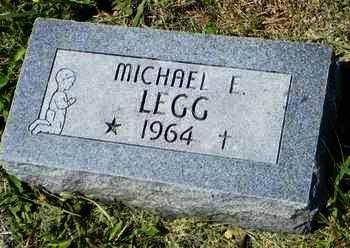 LEGG, MICHAEL E - Pottawatomie County, Kansas | MICHAEL E LEGG - Kansas Gravestone Photos