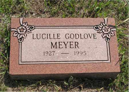 GODLOVE MEYER, LUCILLE - Pottawatomie County, Kansas   LUCILLE GODLOVE MEYER - Kansas Gravestone Photos