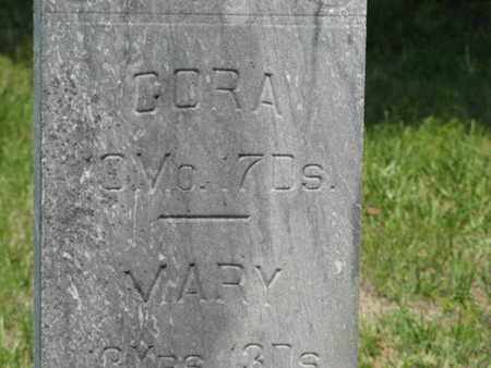 MITCHELL, CORA - Pottawatomie County, Kansas | CORA MITCHELL - Kansas Gravestone Photos