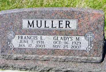 DUNCAN MULLER, GLADYS M - Pottawatomie County, Kansas | GLADYS M DUNCAN MULLER - Kansas Gravestone Photos
