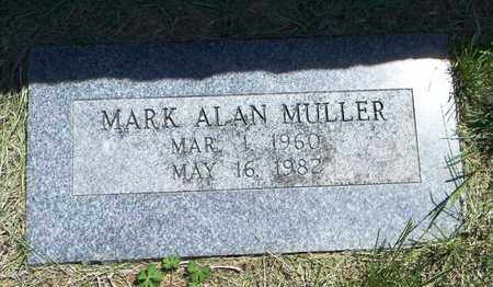 MULLER, MARK ALAN - Pottawatomie County, Kansas | MARK ALAN MULLER - Kansas Gravestone Photos