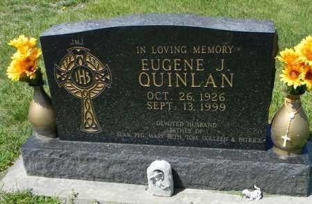 QUINLAN, EUGENE J - Pottawatomie County, Kansas | EUGENE J QUINLAN - Kansas Gravestone Photos